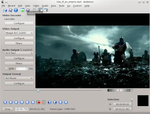 Avidemux Editing Video Software