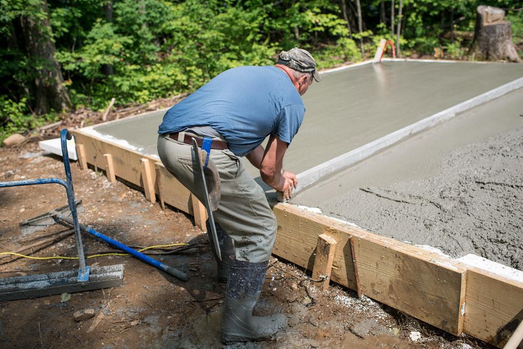 Our Cottage Foundation, Part Five: Pouring Concrete