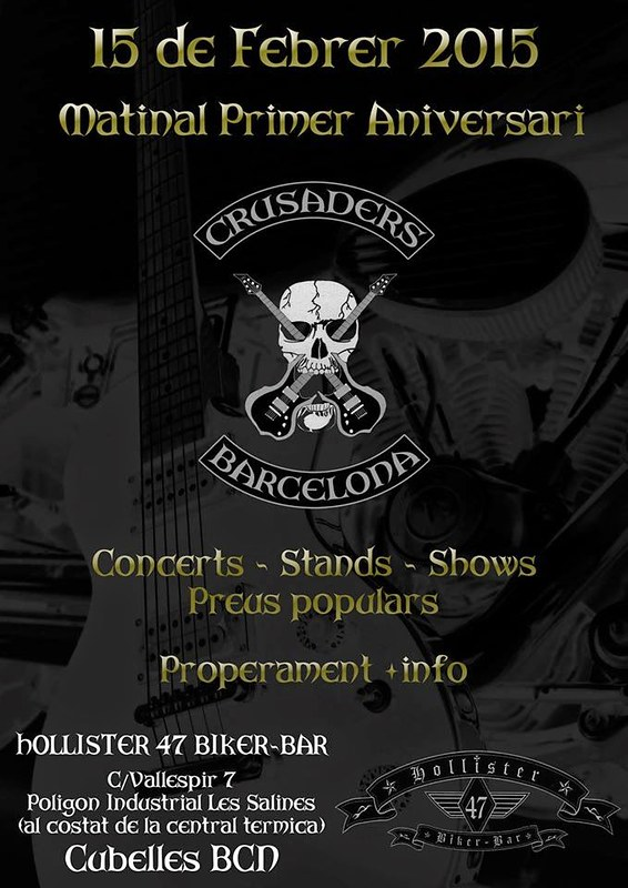 Matinal Primer Aniversario Crusaders - Cubelles (BARCELONA)
