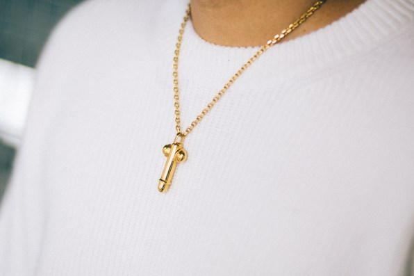 Tom Ford Penis necklace