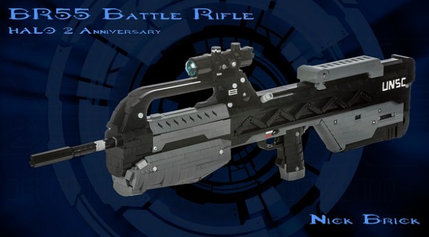 Halo 2 Anniversary BR55 Battle Rifle