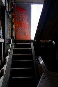 Rear entrance, stairwell | 158 East Pender St. | Sai Woo
