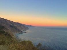 The road in Big Sur