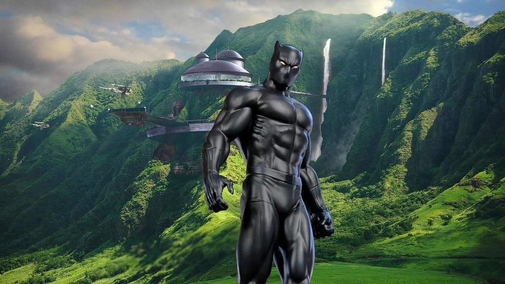 2017 Black Panther Desktop Background HD Wallpaper - Styli\u2026 Flickr