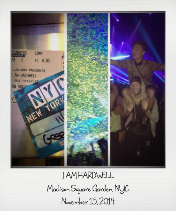 Bryanboy attends the I Am Hardwell concert at Madison Square Garden