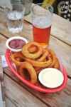 Jerk Seasoned Onion Rings