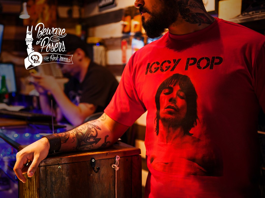 98FM - Iggy Pop
