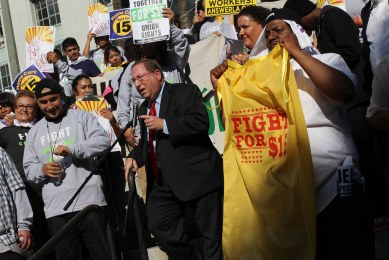 FightFor15 LA 12-4-2014