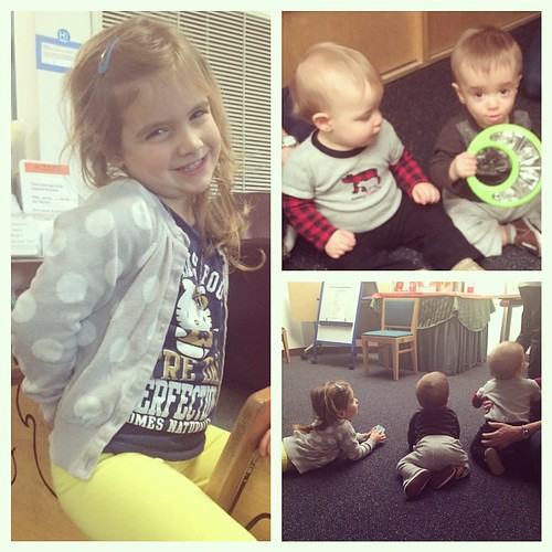 Got to spend my day off at story time with Abby, Cameron and Patrick. My cousins are the cutest.