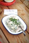 Potato Salad with Spring Onion, Dill, Pickles and Mayo