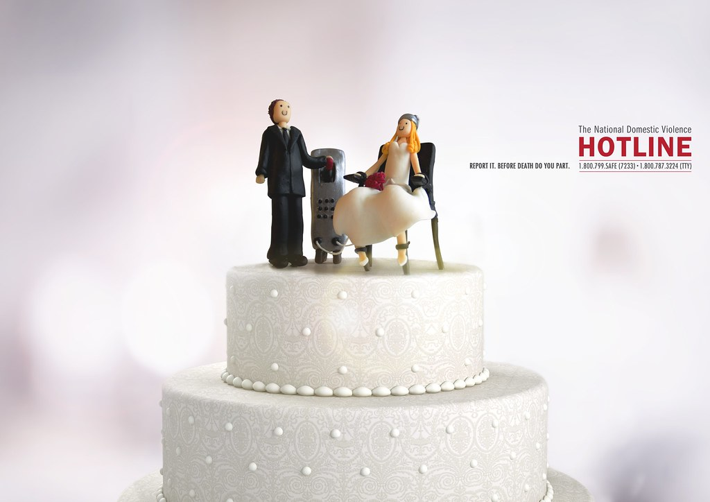 The National Domestic Violence Hotline - Wedding Cake 1