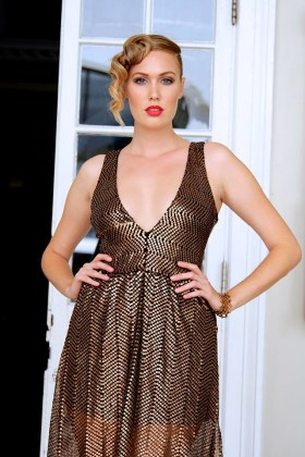 Copper Celebration Dress