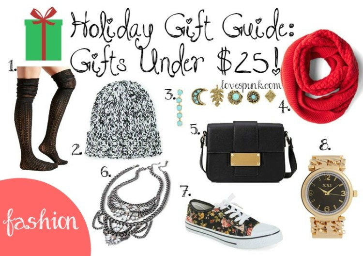 Holiday Gift Guide: Fashion Gifts Under $25!