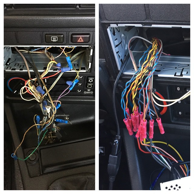 Reversing a hack job Ripping out added speaker wire, usin\u2026 Flickr