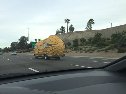 Mr. Peanut mobile