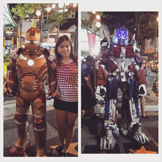 with the robots