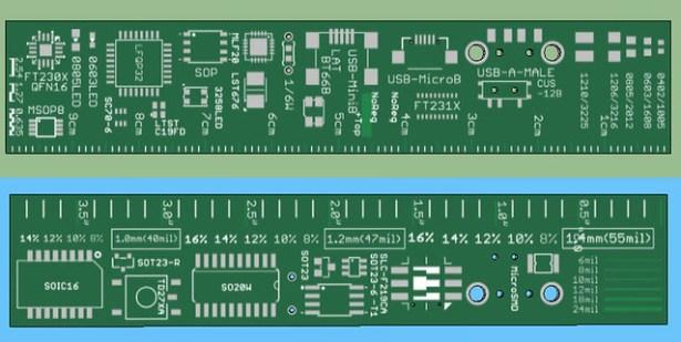 PCB Ruler v2
