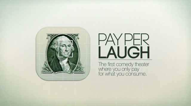 pay per laugh presentation