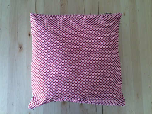 Valentines pillow for Rachele