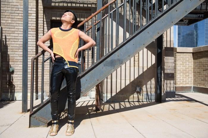 Prabal Gurung top worn by fashion blogger Bryanboy