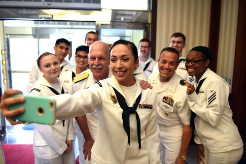 PACFLT commander visits Korea, \u0027confident US, ROK bond tighter than - us navy master at arms