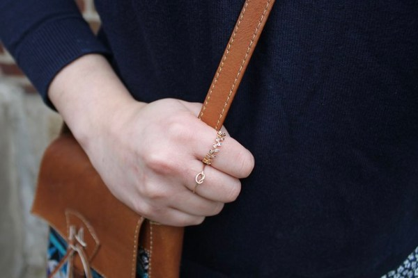 Dainty Gold Rings | Shades of Sarah
