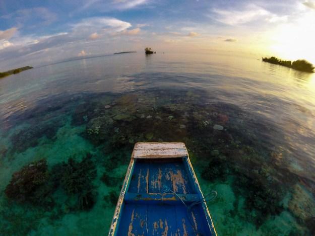 Clear Togean seas.