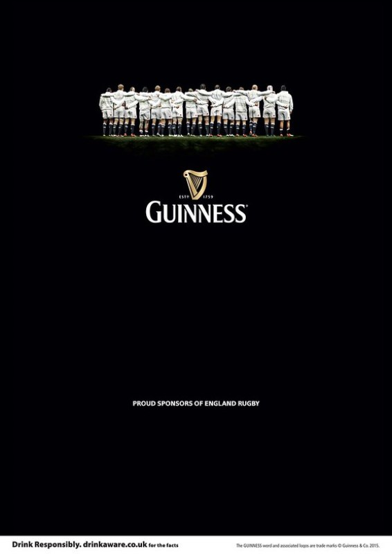 Guiness - Rugby Sponsor