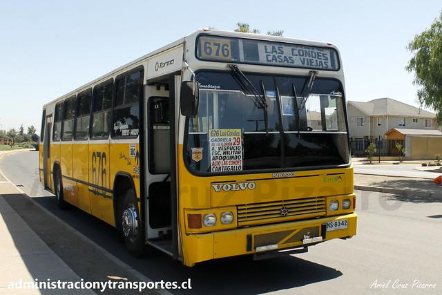 Micro Amarilla 676 | Marcopolo Torino LN - Volvo / NS8042