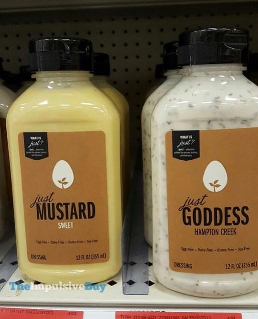 Hampton Creek Just Mustard and Just Goddess