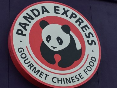 Angry Panda! For dinner?!?! Anarchy!