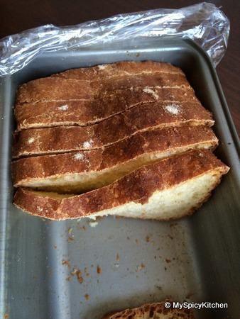 No knead wheat loaf, Blogging Marathon, Baking marathon, Fire up your oven,