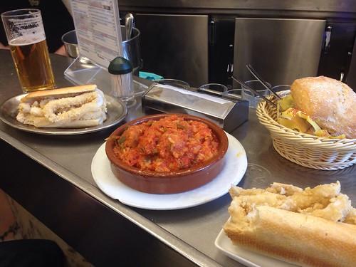 Best Calamari Sandwiches in Madrid - El Brilliante