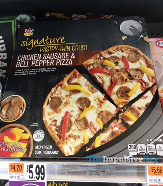 Giant Signature Pastry-Thin Crust Chicken Sausage & Bell Pepper Pizza