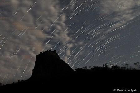 Star Trail, Morro do Castelo