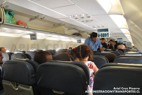 LAN Airlines - LAN461 - Airbus A320-214 CC-BAK