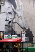 Large scale public art in Downtown LA