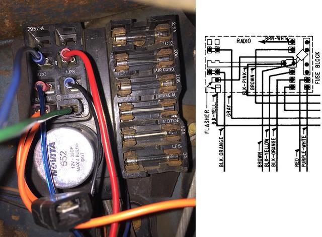 67 Nova Fuse Box Wiring Diagrams