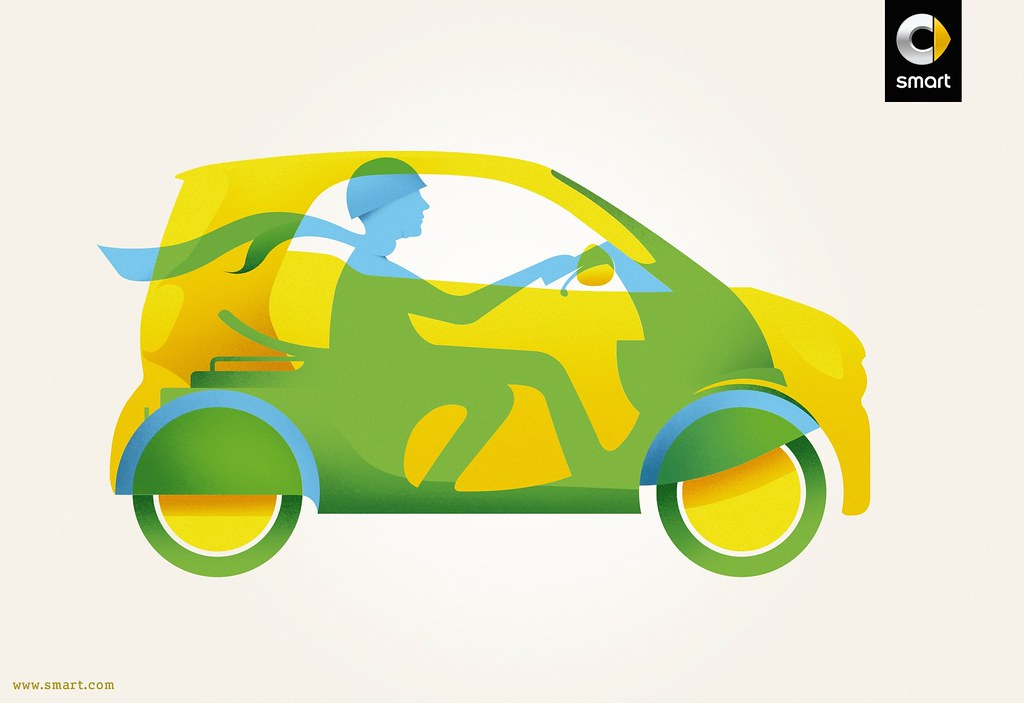 Smart - All the benefits of a motorbike in a car 1