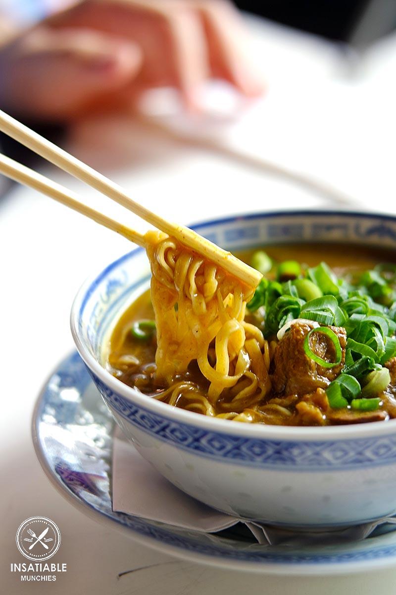 Curry Wagyu Brisket Lo Mein
