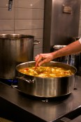 Stirring the bouillabaisse