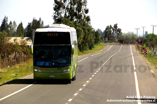 Tur Bus - Limarí - Busscar Jum Buss 380 / Mercedes Benz (BHYC88)