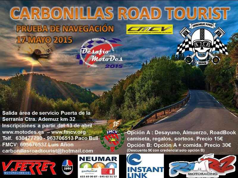 Carbonillas Road Tourist