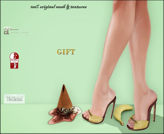 Meredith BananaSplit GIFT by ChicChica @ The Chapter Four