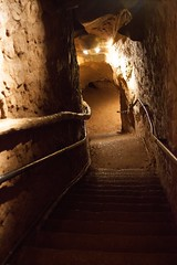 "stairway from the cavern • <a style=""font-size:0.8em;"" href=""http://www.flickr.com/photos/54494252@N00/7332083446/"" target=""_blank"">View on Flickr</a>"