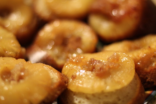 Salted Caramel Pineapple Cakes