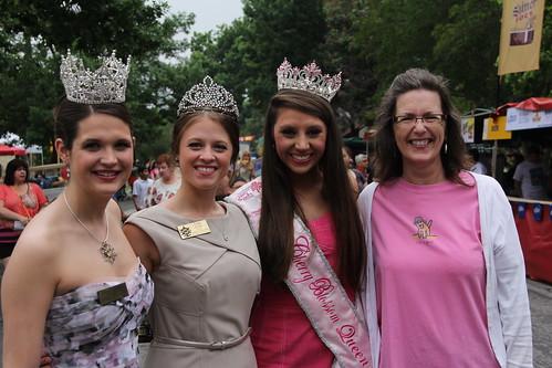 Four Texas Beauty Queens