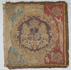 Drapelul Regimentului 8 Călărași Roman model 1872
