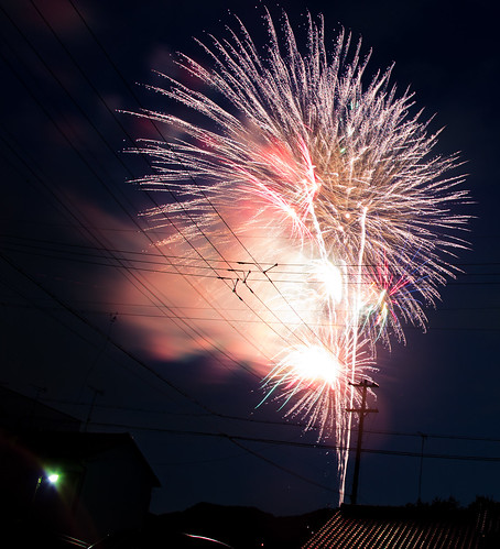 Summer Fireworks in Gifu (岐阜市)