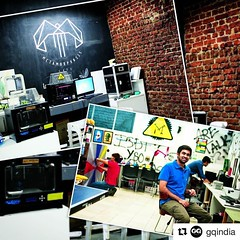 #Repost @gqindia ・・・ #Mumbai's #MakerAsylum, started by Vaibhav Chhabra, has been around since 2013, and is one of 20 makerspaces around #India, to let people come together and make things themselves. Everything from prosthetic limbs to eye diagnostic dev